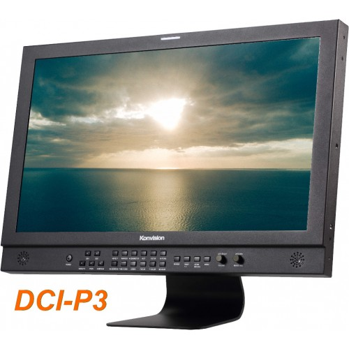 """KVM-2460D 24"""" DCI-P3 Colour Grading Monitor with HDR (400 nit)"""